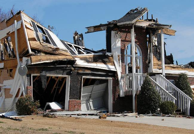 What to Throw Away After a House Fire